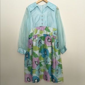 1960's Poppy Dress